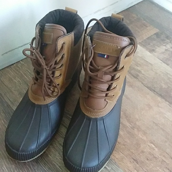 Tommy Hilfiger Mens Casey Tan Boot Duck